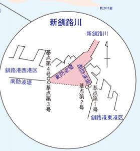 新釧路川 サケマス河口規制